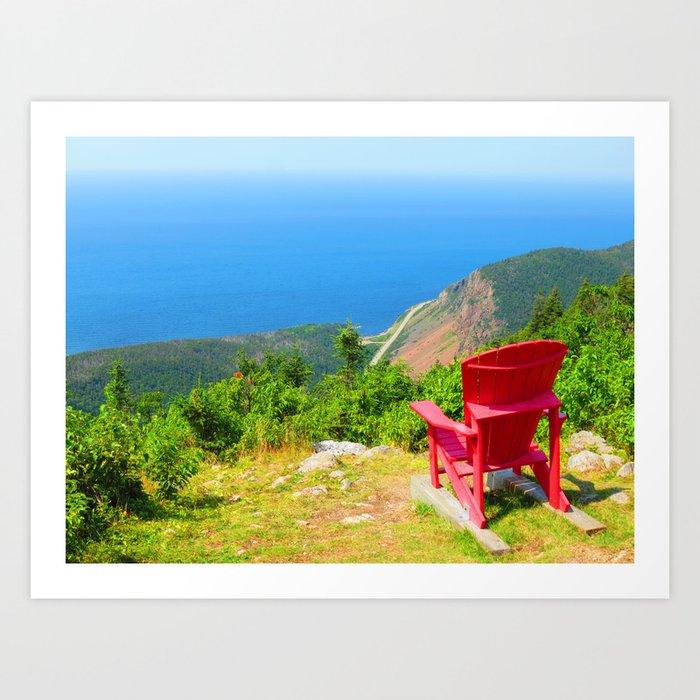 Etonnant Adirondack Chair Art Print