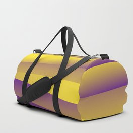 Yellow waves Duffle Bag