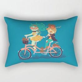 Medusa & The Pied Piper Rectangular Pillow