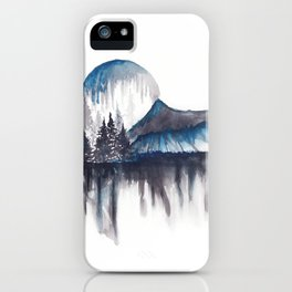 Abstract nature iPhone Case