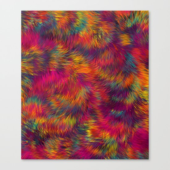 Rainbow Cuddles 08 Canvas Print