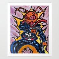 Hit-Ant Art Print