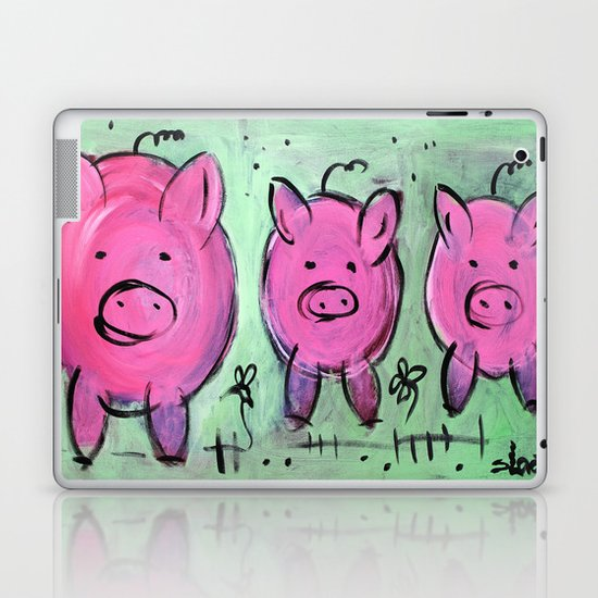 Mama pig Laptop & iPad Skin