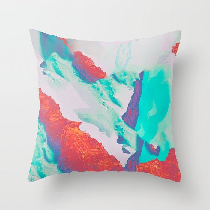 Eye Sea Throw Pillow