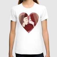 lovers T-shirts featuring Lovers by Pendientera