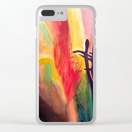 Soul Suckers Clear iPhone Case
