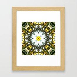 Beauty Among Thorns Framed Art Print