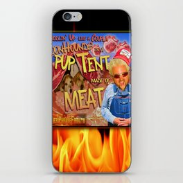 Guy Fieri and a Couple Coonhounds iPhone Skin