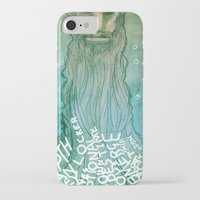 beard iPhone & iPod Cases featuring Beard by Lee Grace Design and Illustration