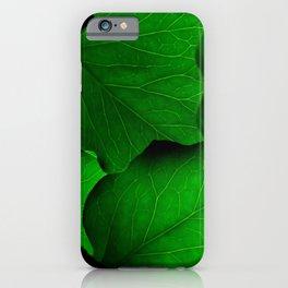 Wild Chlorophyll iPhone Case