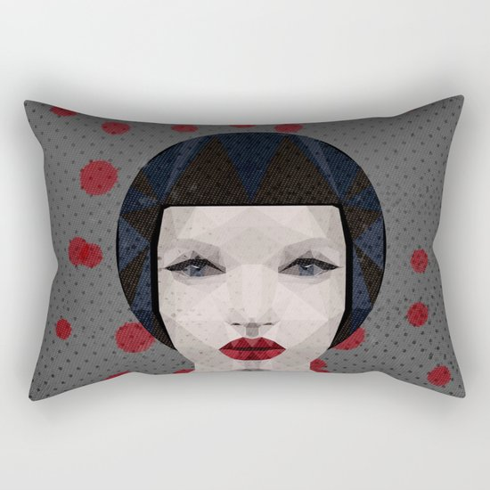 THX 1138 Doll Rectangular Pillow