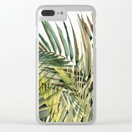 Arecaceae - household jungle #2 Clear iPhone Case