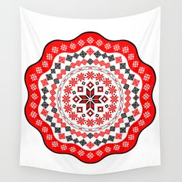 Romanian Mandala Wall Tapestry