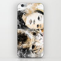 best friends iPhone & iPod Skins featuring Best Friends by Fresh Doodle - JP Valderrama
