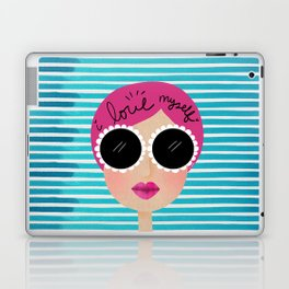 I love myself Laptop & iPad Skin