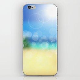 Bokeh Beach Summer Sun Wellness iPhone Skin