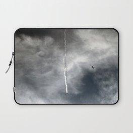 Plane Trails Laptop Sleeve