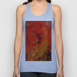Peacock in the purgatory Unisex Tank Top
