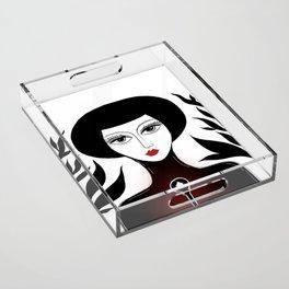 Key Acrylic Tray