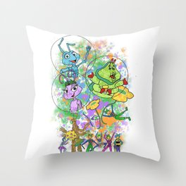 Disney Pixar Play Parade - Bug's Life Unit Throw Pillow