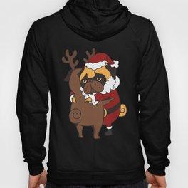 Pug Hugs Christmas Hoody