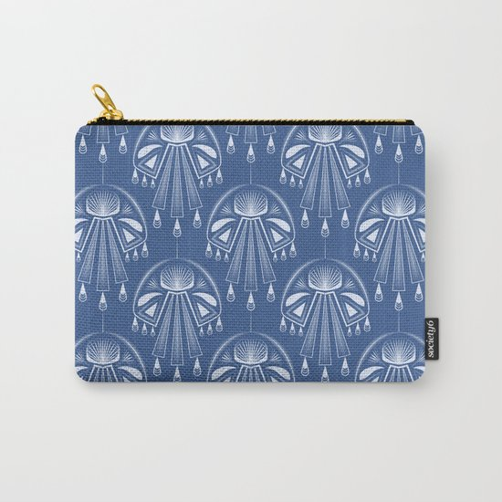 Light dreams. Blue Deco. No. 1. Carry-All Pouch