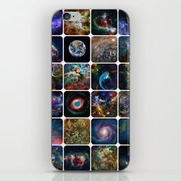 The Amazing Universe - Collection of Satellite Imagery iPhone Skin