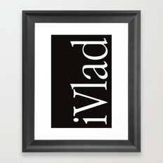 iVlad cover Framed Art Print