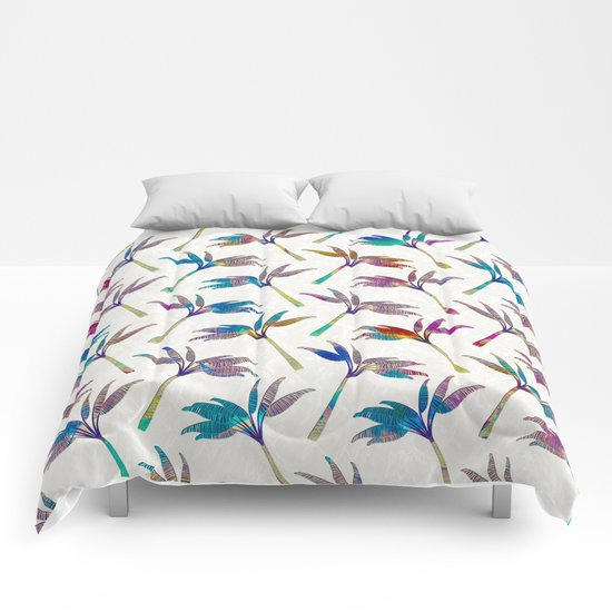 Palm Tree pattern Comforters