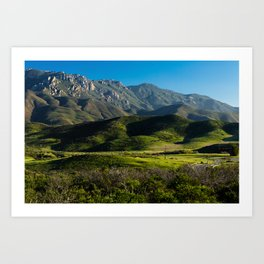 Boney Mountain,CA. Art Print