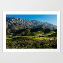 Boney Mountain,CA. Art Print