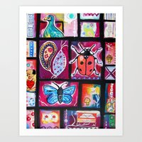Cabinet of Curious Things #2 Art Print