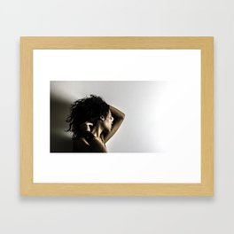The Wake Up Framed Art Print