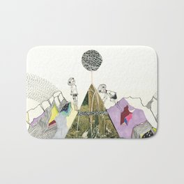 Climbers - Cool Kids Climb Mountains Bath Mat
