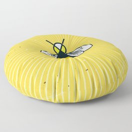 Don t worry - Bee happy - A Hell Songbook Edition Floor Pillow
