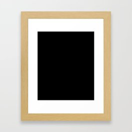DON'T FORGET Framed Art Print