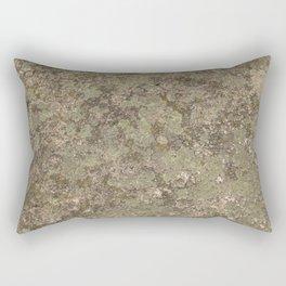 Moss on Stone Hard Texture Rectangular Pillow