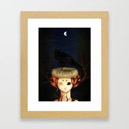 Light less. Framed Art Print