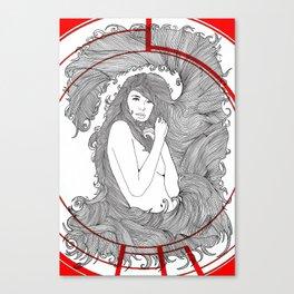 Target Nouveau. Canvas Print