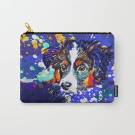Abstractly Australian Shepherd Carry-All Pouch
