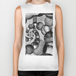 STRANDED/An Abstract Biker Tank