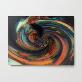 Eyes Like Whirlpools Metal Print
