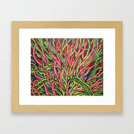 Banana Kush Flower by Mike Kraus Framed Art Print
