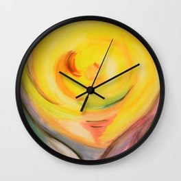 the first day of the creation world Wall Clock
