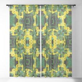 Iris Possible Perception Sheer Curtain