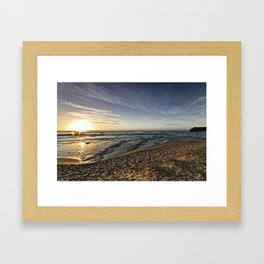 Headlands Sunrise Framed Art Print