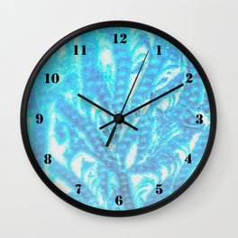 blue frosting Wall Clock