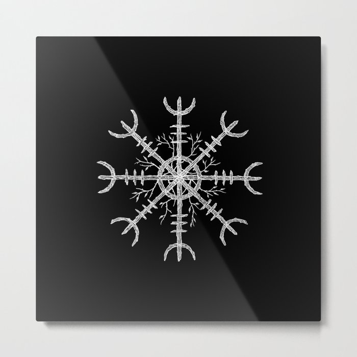 Aegishjalmur II Metal Print