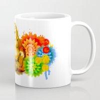 buddah Mugs featuring Buddah by Adaildo Neto
