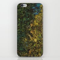 green arrow iPhone & iPod Skins featuring Green Arrow  by MelissaMoffatCollage